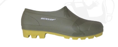 PVC cipő (04) zoknira húzható, víz- és lúgálló, zöld 95636-47