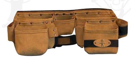 KOMBINÁLT ÖVTÁSKA Kombinált övtáska szett szegtáskával, bőrszíjjal, hevederrel