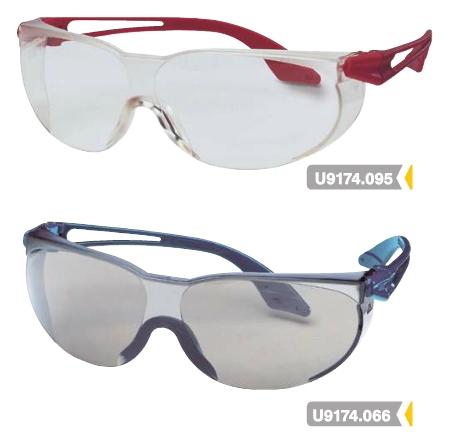 U9174066-095: Uvex skylite kiválóan szellőző nagyon könnyű védőszemüveg