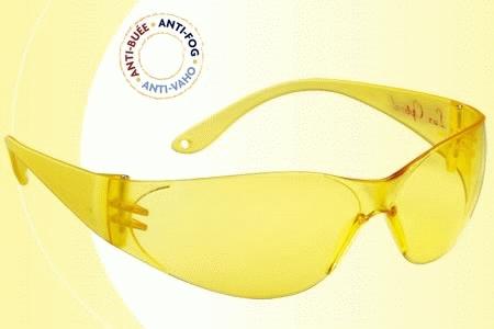 Lux Optical Pokelux munkavédelmi szemüveg, sárga lencse, karcmentes, páramentes 60556