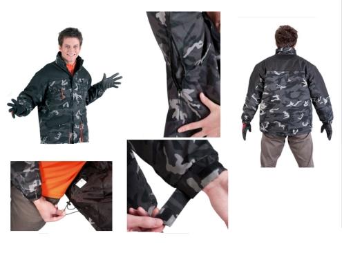 EMERTON CAMOUFLAGE téli dzseki