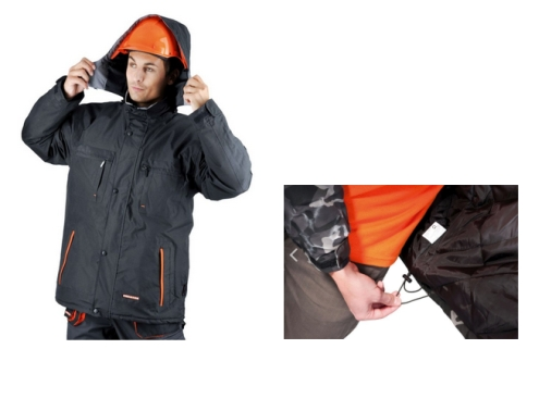 EMERTON BLACK téli dzseki C030100236000X