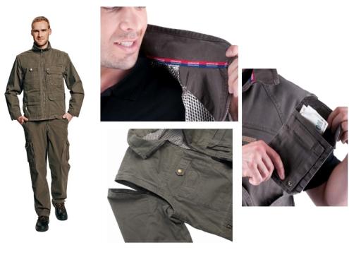 UKARI kabát zöld c0301008510004 modell