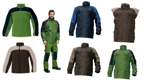 STANMORE téli kabát zöld/fekete c03010086180XX