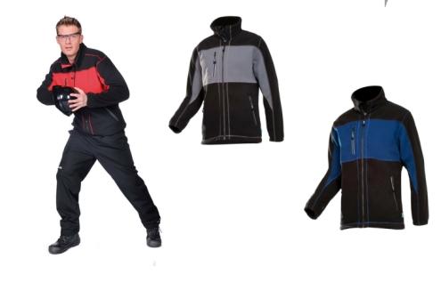 DURANGO férfi polár kabá szürke/fekete