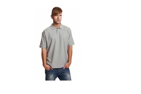 DHANU piké póló szürke
