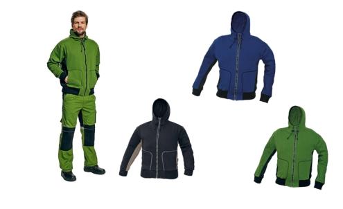 STANMORE NEW pulóver zöld/fekete c03060017180XX