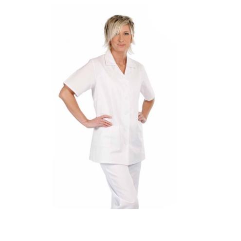 LILY rövidujjú női ing fehér -