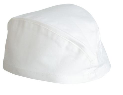 VOLANS szakácssapka hajó fehér -