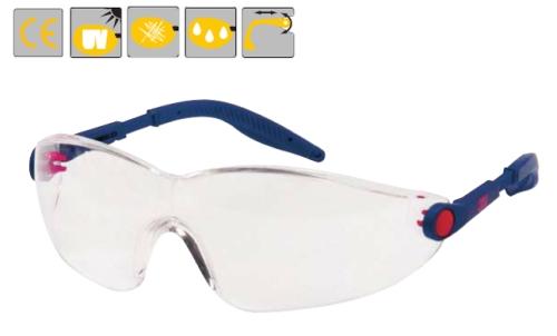 Konfort, szemüvegcsalád, karc- és páramentes polikarbonát, állítható szárhossz és lencseszög