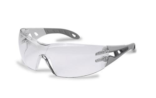 Pheos szürke/világosszürke szár, szellőzőrések, karc- és páramentes ezüst tükrös lencse (HC-AF)