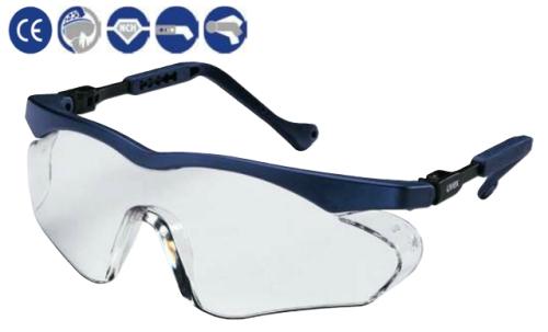 Skyper sx2 ütésálló, kék műanyag szár, állítható szárhossz és -szög, karc- és páramentes lencse (HC-AF)