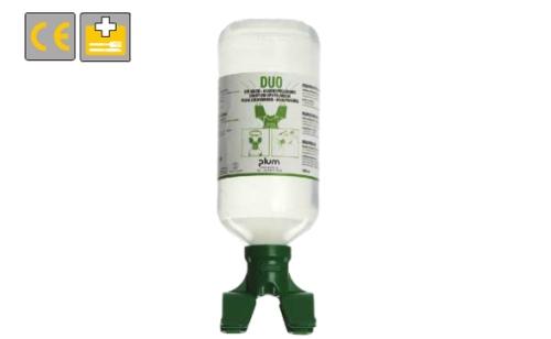 PLUM steril szemöblítő folyadék, Duo 1000 ml, egyszerre 2 szem öblítésére