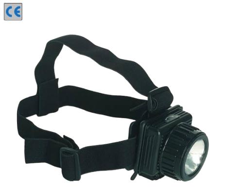 Basic állítható lámpa fejre és sisakra, pótégővel (Eco 56071)