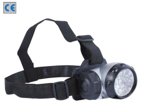 LED állítható lámpa fejre és sisakra, állítható LED-ekkel (Luan 56073)