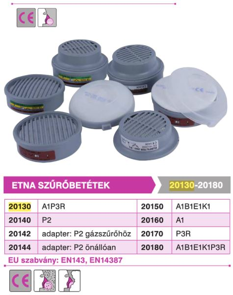 P2 előszűrőbetét cikkszámú 20140 filter