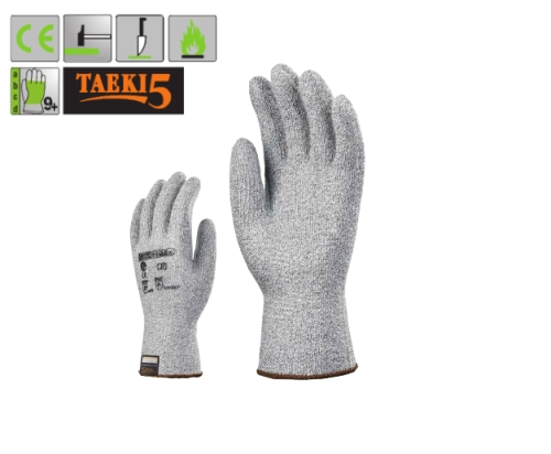5-ös vágásálló, kopásbiztos, rugalmas és hőálló Taeki5 (7007)  kesztyű
