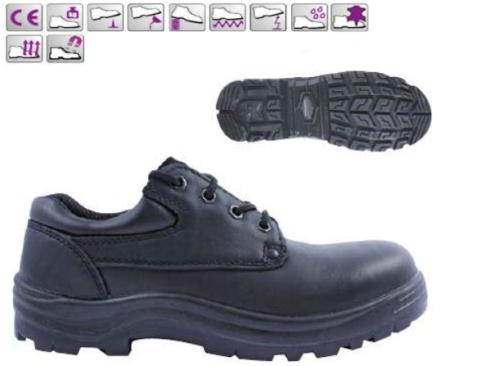 AVENTURINE (S3 CK) 9AVEH42 fekete vízlepergető színbőr cipő és bakancs, kompozit/kevlar, fémmentes