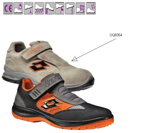 SPRINT(S1P) szürke, kiválóan szellőző, lukacsos velúr cipő, acélkapli és kompozit talp