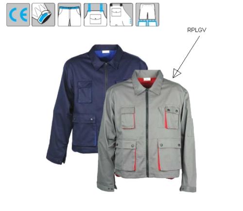 Kabát dzseki fazon, nyolc praktikus zseb, állítható mandzsetta