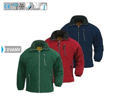 ANGARA  zöld polár pulóver XVANV