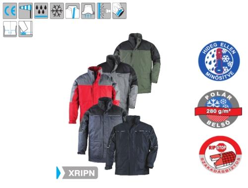 RIPSTOP  fekete . . . 5RIPNL ripstop, szakadásbiztos kapucnis kabát