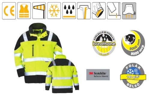 TELEPORT sárga/fekete Softshell kabát, extra lélegző és vízálló külső, puha thermo belső