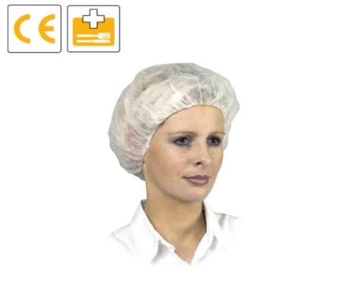 Polipropilén egészségügyi sapka, szellőző       100 db/ doboz
