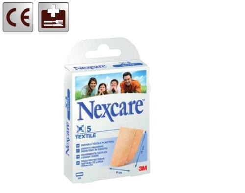 Textile sebtapasz, nyújtható, textil alapú, érzékeny bőrre, 5 db, méretre vágható