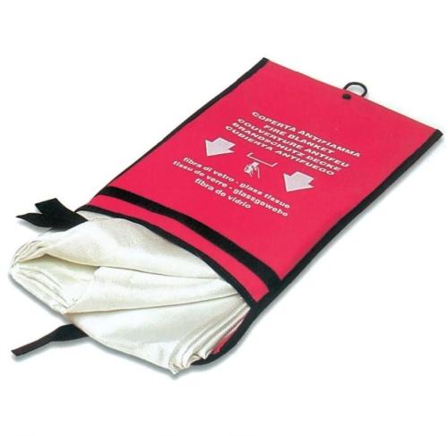 150x150 cm, tűzelfojtó takaró tasakban, 540°C, 420g/m2 59015 cikkszámú