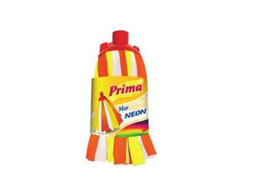 Prima™ Neon felmosófej nyéllel, nagytakarításhoz, sárga-narancs-fehér