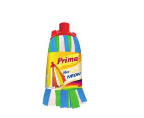 Prima™ Neon felmosófej általános nagytakarításhoz, kék-zöld-fehér