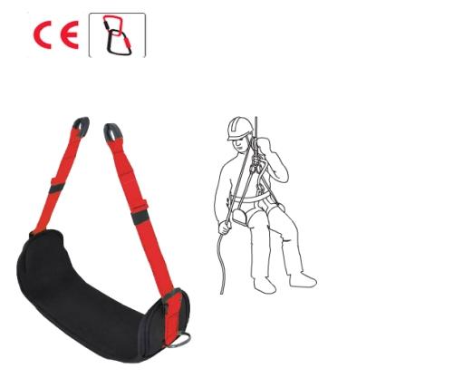 Pad-4 ülőpad, párnázott felület, fém szerszámtartó gyűrűk (csak testhevederrel használható)