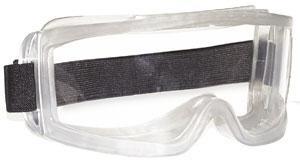 Lux Optical munkavédelmi gumipántos, vegyszerálló szemüveg HUBLUX  60660-as